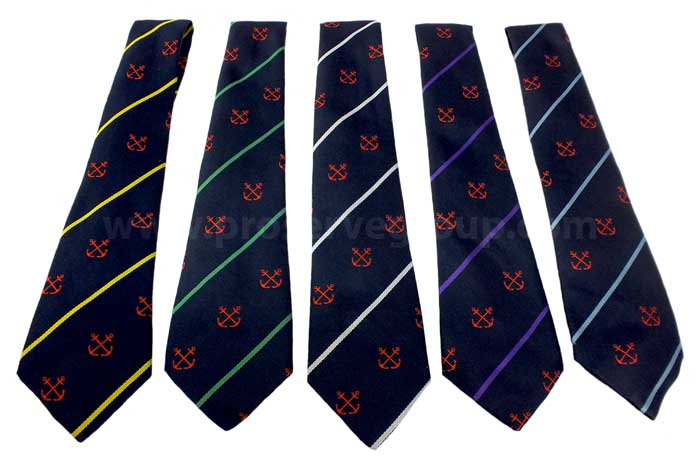 Exmouth Tie Year Colours