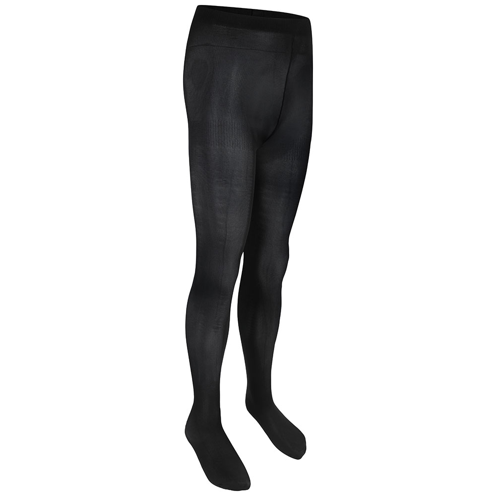 Girls Opaque Tights (Black)