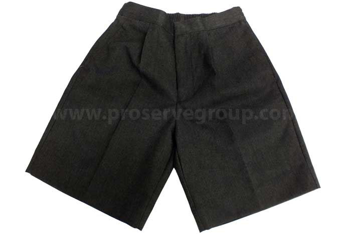 Junior Boys Shorts (Grey)