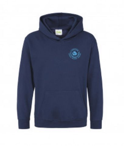 Lympstone PE Hooded Sweat Top (Navy)