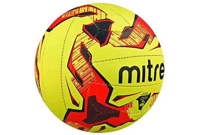 Mitre Tactic Fluo Training Ball (Size 4, 5)