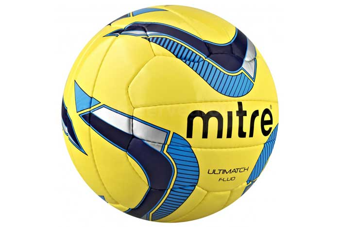 Mitre Ultimatch Fluo Match Ball (Size 4 only)