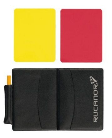 REFEREE CARDS AND WALLET