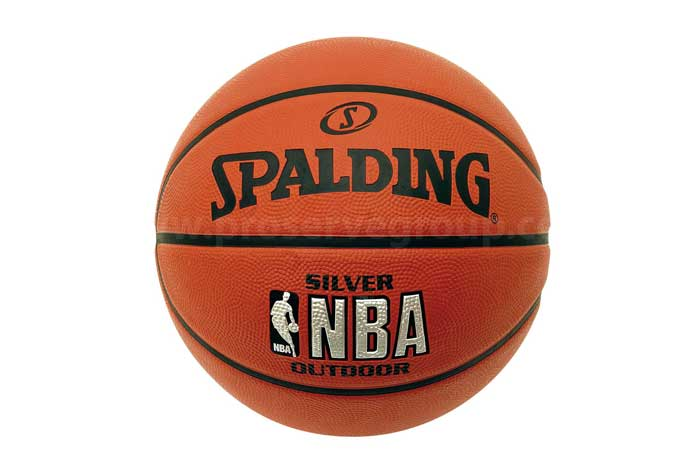 Spalding NBA Silver Indoor/Outdoor Match Ball (Size 7)