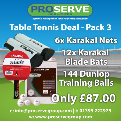 Table Tennis Deal Pack 3