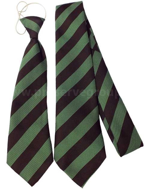Withycombe Tie (Green/Brown)